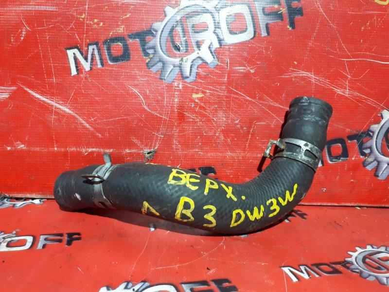 Патрубок Mazda Demio DW3W B3 1996 верхний (б/у)
