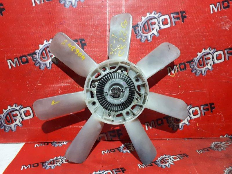 Вискомуфта вентилятора радиатора Toyota Lite Ace CR22G 3C-TE 1992 (б/у)