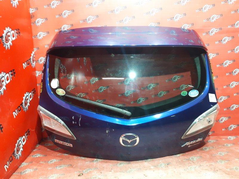 Дверь задняя багажника Mazda Axela BLEFW LF-VE 2009 задняя (б/у)