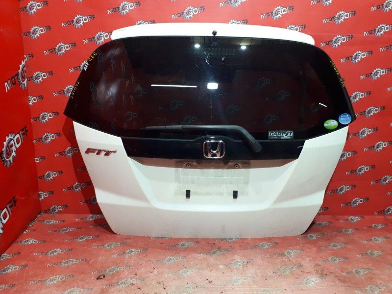 Дверь задняя багажника Honda Fit GE6 L13A 2007 задняя (б/у)