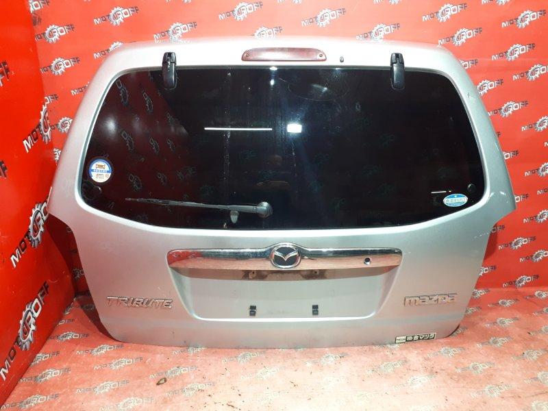 Дверь задняя багажника Mazda Tribute EP3W L3-DE 2002 задняя (б/у)