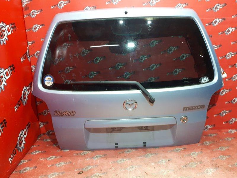 Дверь задняя багажника Mazda Demio DW3W B3 1996 задняя (б/у)