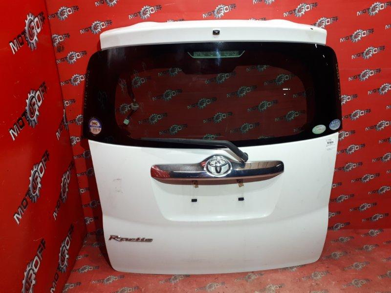 Дверь задняя багажника Toyota Ractis NCP100 1NZ-FE 2005 задняя (б/у)