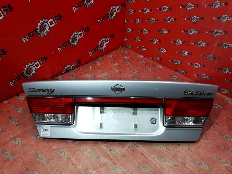 Крышка багажника Nissan Sunny FB15 QG15DE 1998 задняя (б/у)