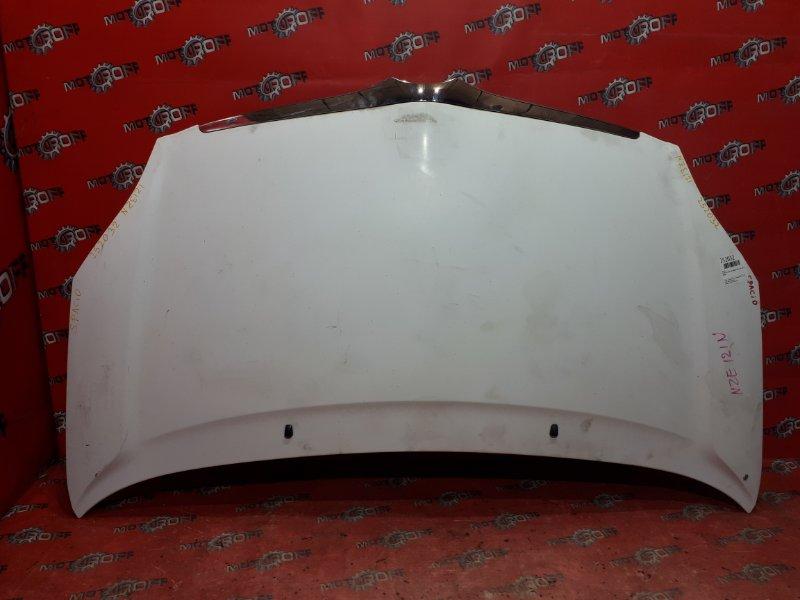 Капот Toyota Corolla Spacio NZE121N 1NZ-FE 2001 (б/у)