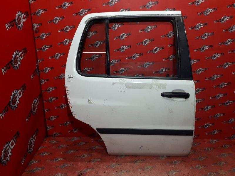 Дверь боковая Toyota Raum EXZ10 5E-FE 1997 задняя правая (б/у)