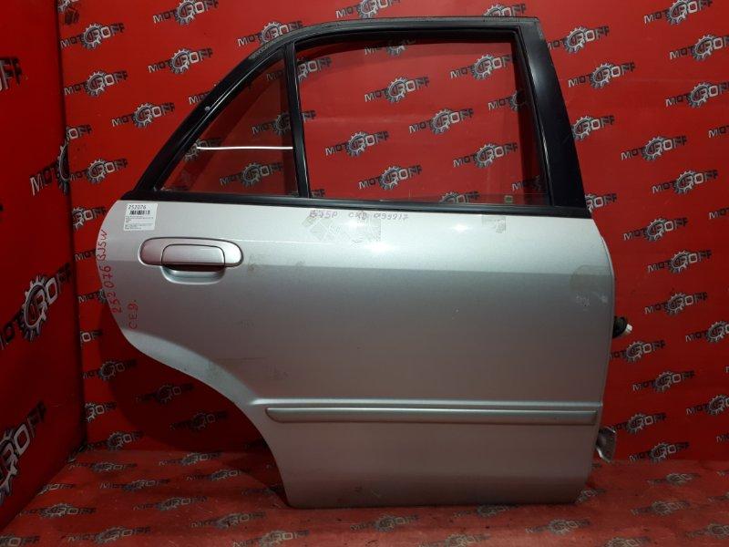 Дверь боковая Mazda Familia S-Wagon BJ5W ZL-VE 1998 задняя правая (б/у)
