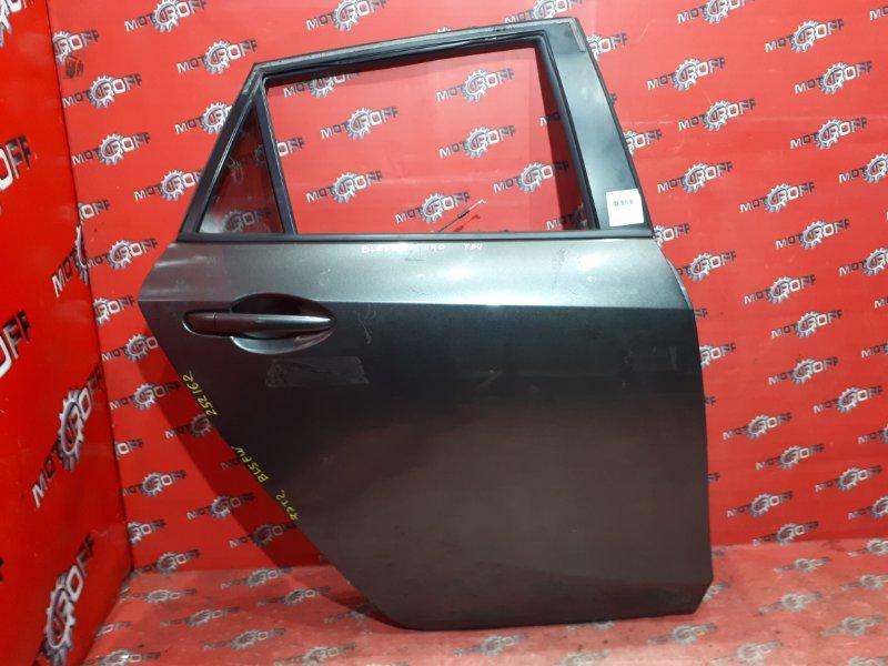 Дверь боковая Mazda Axela BL5FW ZY-VE 2009 задняя правая (б/у)