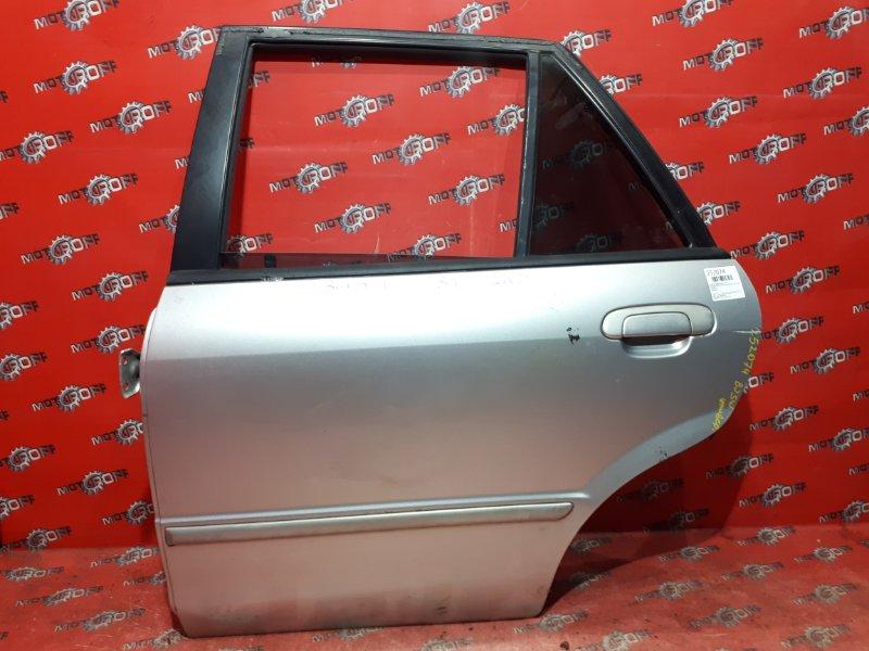 Дверь боковая Mazda Familia S-Wagon BJ5W ZL-VE 1998 задняя левая (б/у)