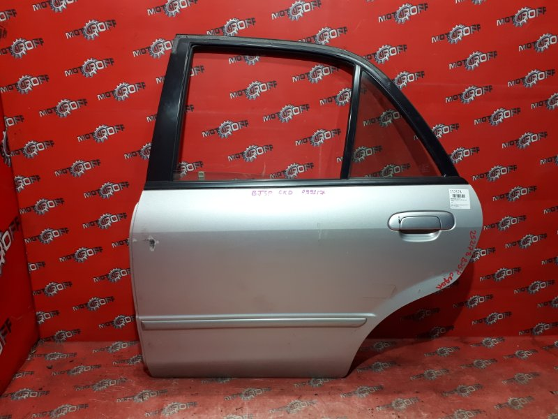 Дверь боковая Mazda Familia BJ5P ZL-VE 1998 задняя левая (б/у)