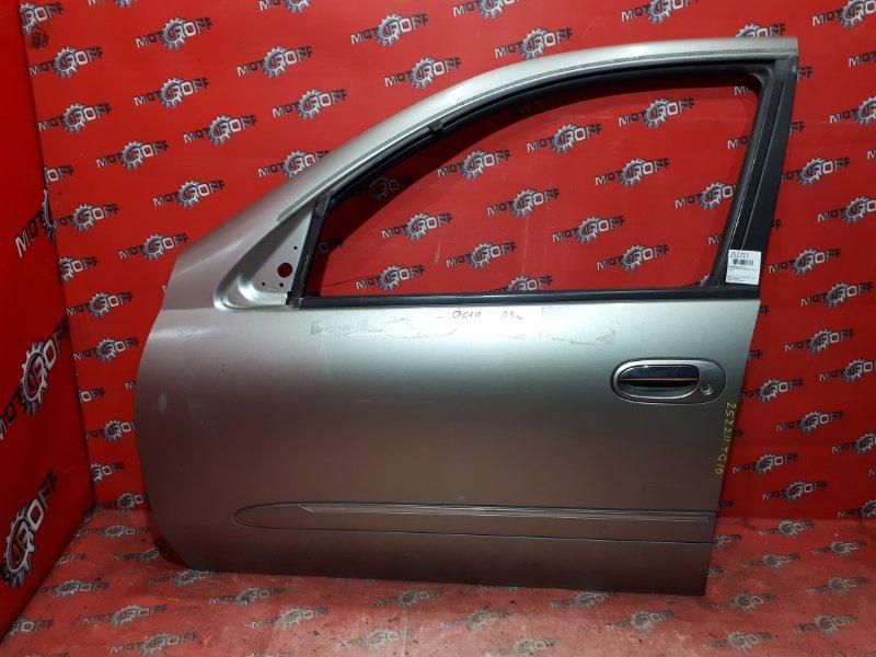 Дверь боковая Nissan Bluebird TG10 QR20DD 2000 передняя левая (б/у)