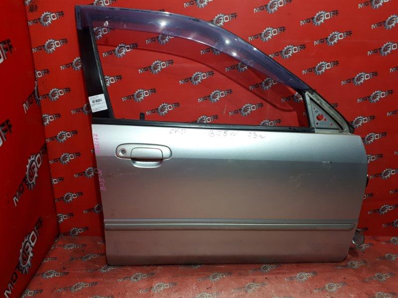 Дверь боковая Mazda Familia S-Wagon BJ5W ZL-VE 1998 передняя правая (б/у)