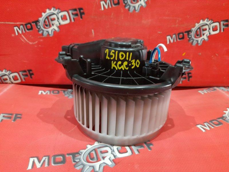 Вентилятор (мотор отопителя) Toyota Passo KGC30 1KR-FE 2010 (б/у)