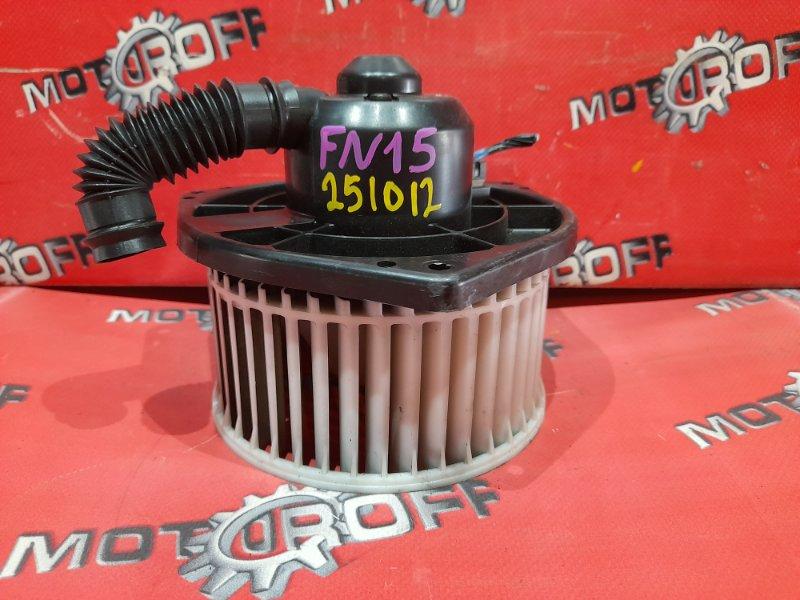 Вентилятор (мотор отопителя) Nissan Pulsar FN15 GA15DE 1995 (б/у)