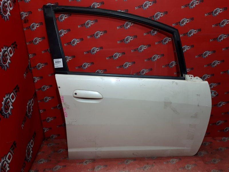 Дверь боковая Honda Fit GE6 L13A 2007 передняя правая (б/у)