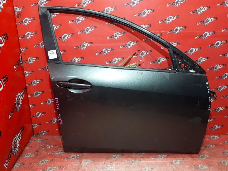 Дверь боковая Mazda Axela BL5FW ZY-VE 2009 передняя правая (б/у)