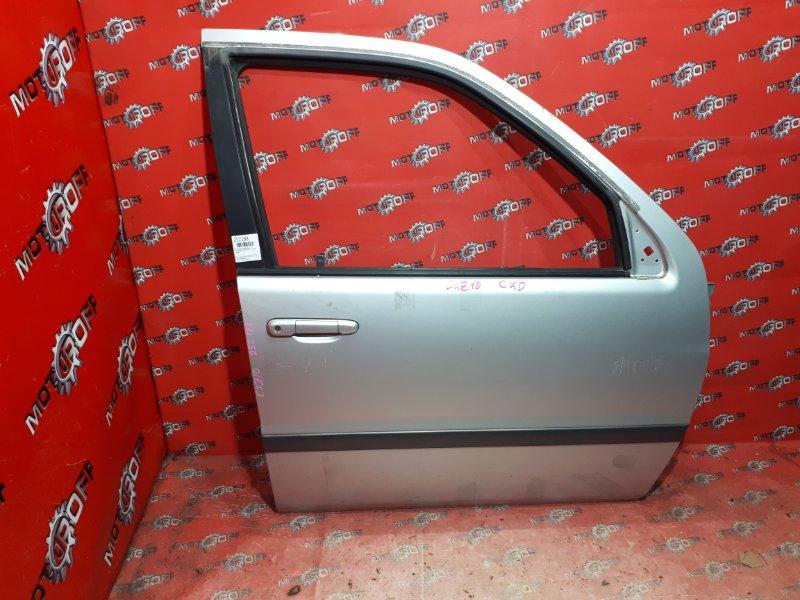 Дверь боковая Toyota Raum EXZ10 5E-FE 1997 передняя правая (б/у)