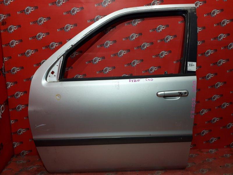 Дверь боковая Toyota Raum EXZ10 5E-FE 1997 передняя левая (б/у)
