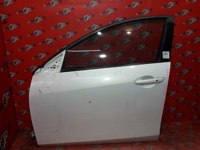 Дверь боковая Mazda Axela BLEFW LF-VE 2009 передняя левая (б/у)