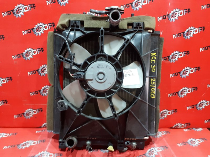 Радиатор двигателя Toyota Passo KGC30 1KR-FE 2010 (б/у)