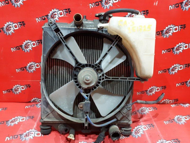 Радиатор двигателя Honda Logo GA3 D13B 1996 (б/у)
