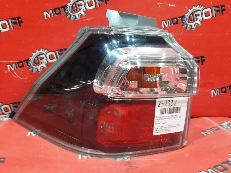 Фонарь (стоп-сигнал) Honda Stepwgn RG1 K24A 2005 задний левый (б/у)