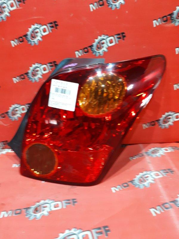 Фонарь (стоп-сигнал) Toyota Ist NCP60 2NZ-FE 2002 задний правый (б/у)