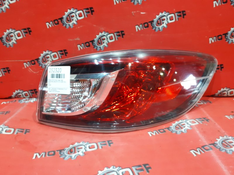 Фонарь (стоп-сигнал) Mazda Axela BL5FP ZY-VE 2009 задний правый (б/у)