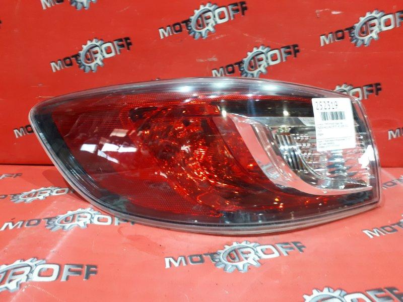 Фонарь (стоп-сигнал) Mazda Axela BL5FP ZY-VE 2009 задний левый (б/у)