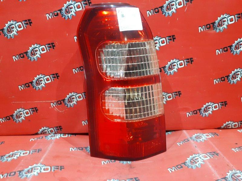 Фонарь (стоп-сигнал) Toyota Succeed NCP51V 1NZ-FE 2002 задний левый (б/у)