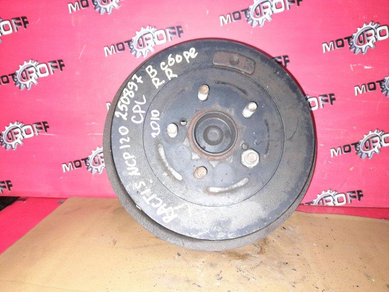 Ступица Toyota Ractis NCP120 1NZ-FE 2010 задняя правая (б/у)