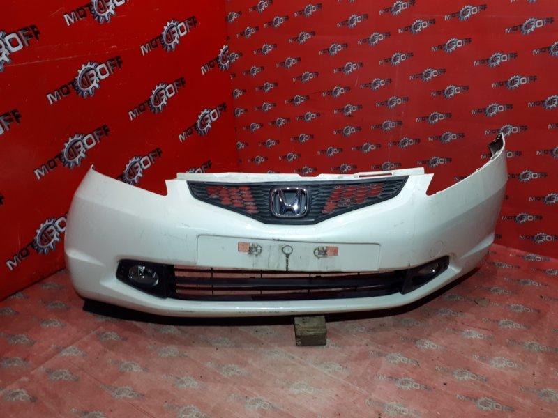 Бампер Honda Fit GE6 L15A 2007 передний (б/у)