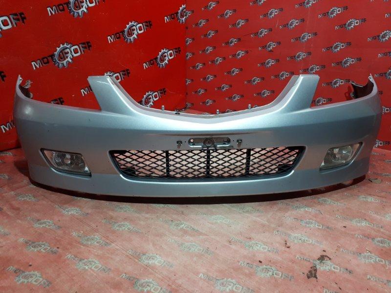 Бампер Mazda Familia S-Wagon BJ5W ZL-VE 2000 передний (б/у)