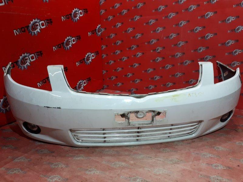 Бампер Toyota Corolla Spacio NZE121N 1NZ-FE 2001 передний (б/у)