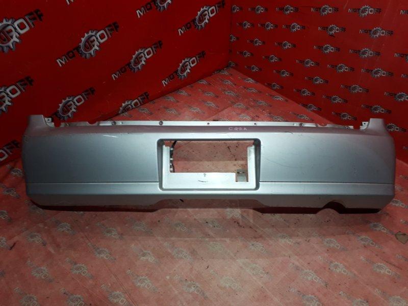 Бампер Mitsubishi Dingo CQ2A 4G15 2001 задний (б/у)