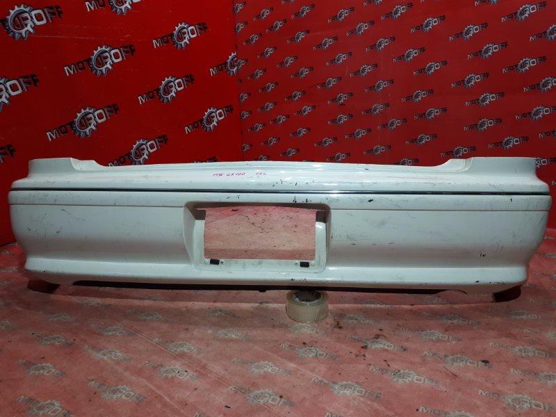 Бампер Toyota Mark Ii GX100 1G-FE 1996 задний (б/у)