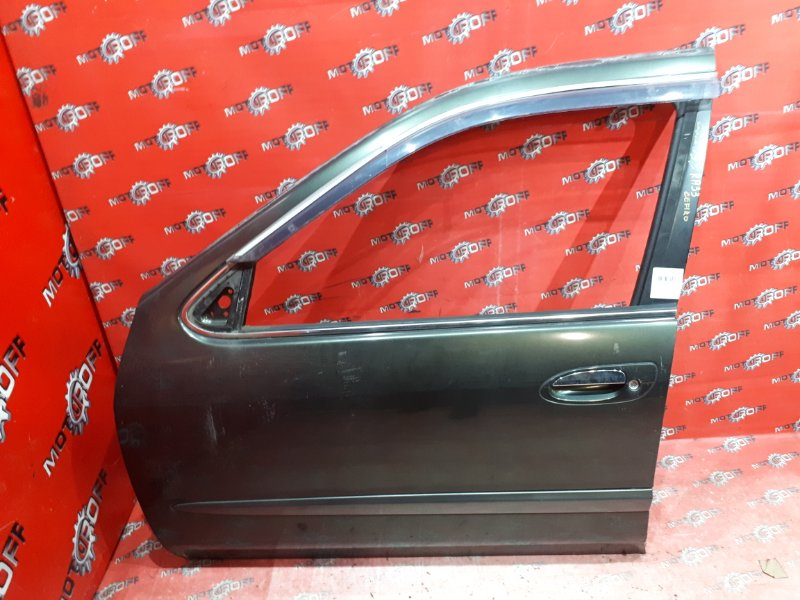 Дверь боковая Nissan Cefiro A33 VQ20DE 1998 передняя левая (б/у)