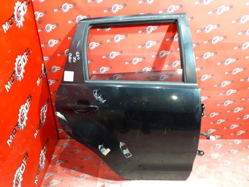 Дверь боковая Toyota Ist NCP61 1NZ-FE 2002 задняя правая (б/у)