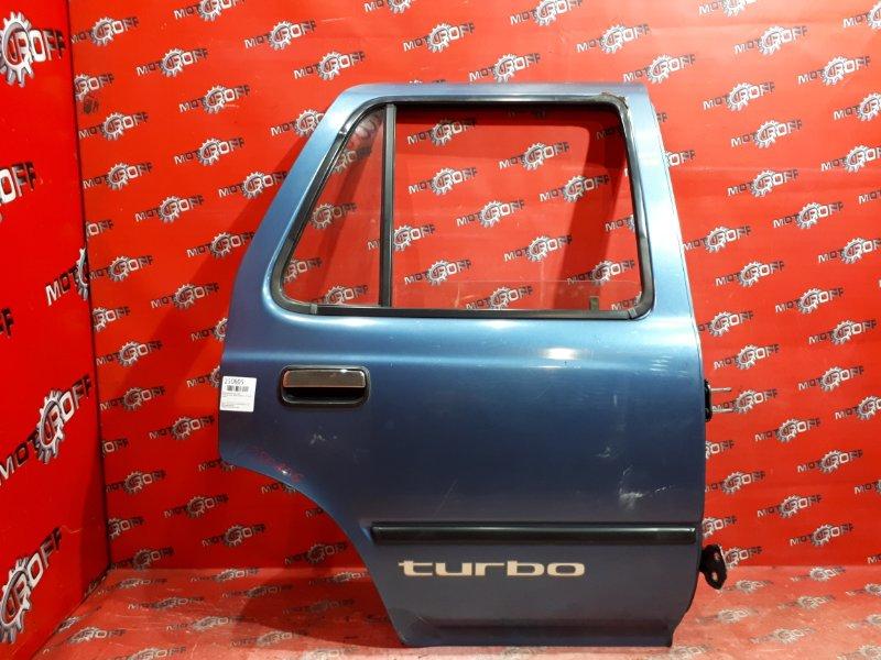 Дверь боковая Toyota Hilux Surf LN130G 2L-TE 1989 задняя правая (б/у)