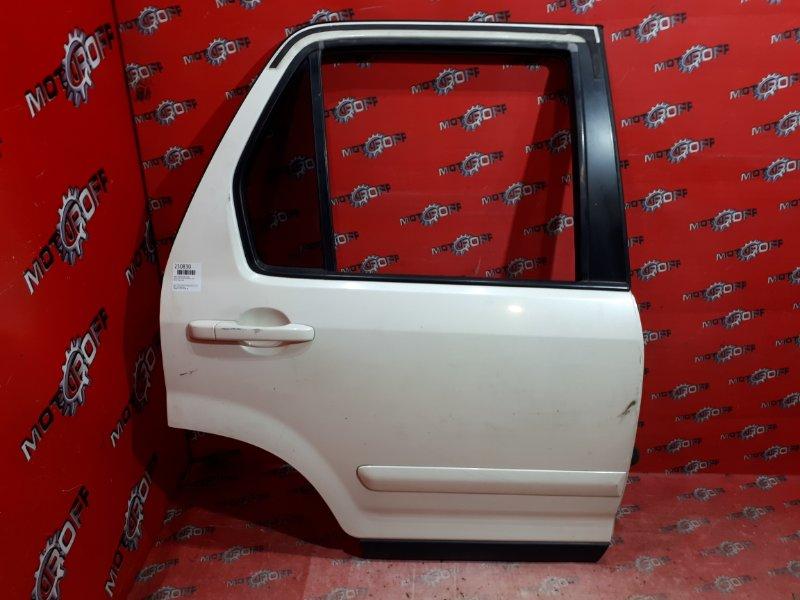 Дверь боковая Honda Cr-V RD4 K20A 2001 задняя правая (б/у)