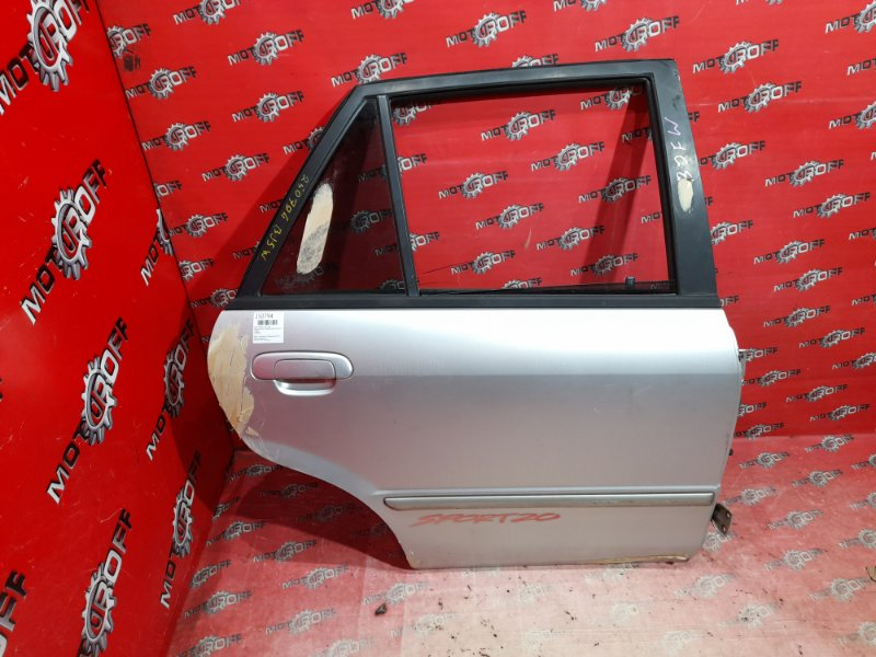 Дверь боковая Mazda Familia S-Wagon BJ5W ZL-DE 1998 задняя правая (б/у)