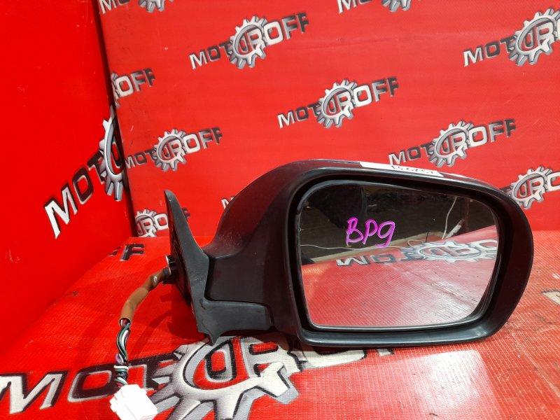 Зеркало боковое Subaru Legacy BP9 EJ25 2006 правое (б/у)