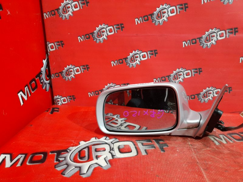 Зеркало боковое Toyota Mark X GRX120 4GR-FSE 2004 левое (б/у)