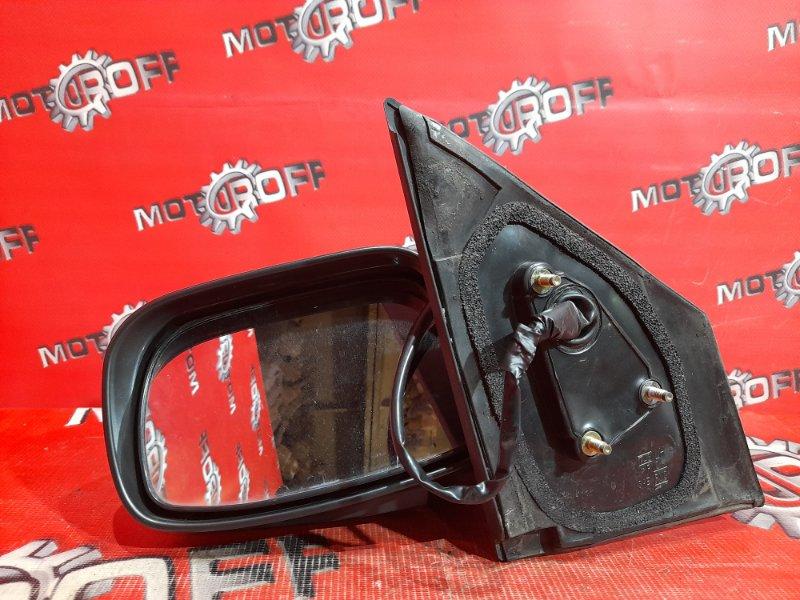 Зеркало боковое Toyota Vitz SCP10 1SZ-FE 2001 левое (б/у)