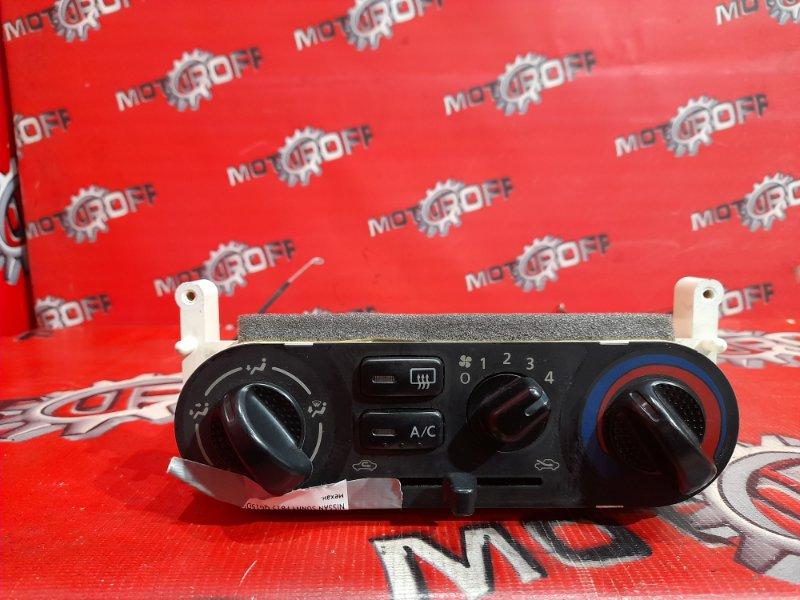 Блок управления климат-контролем Nissan Sunny FB15 QG15DE 1998 (б/у)