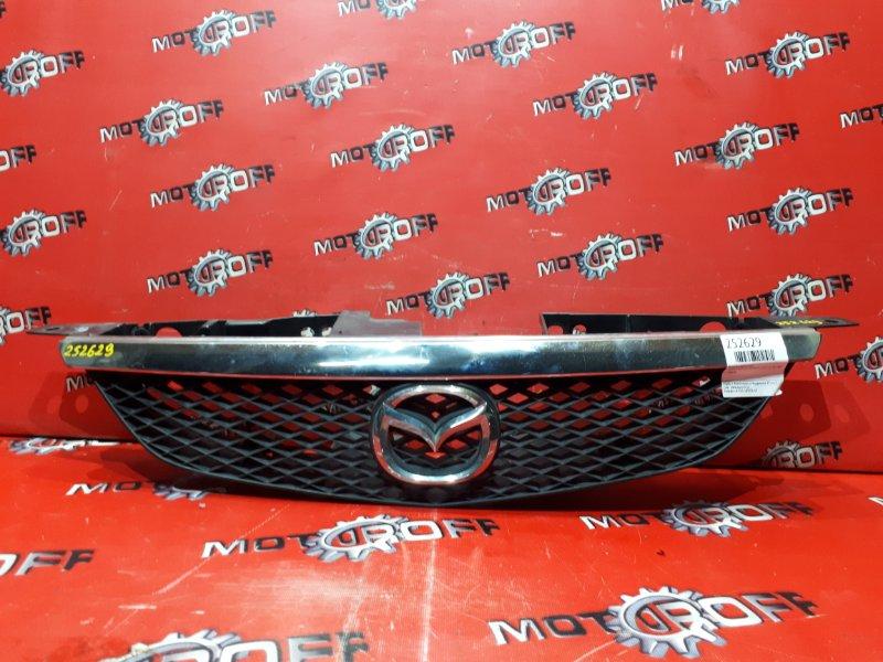 Решетка радиатора Mazda Familia S-Wagon BJ5W ZL-VE 2000 (б/у)