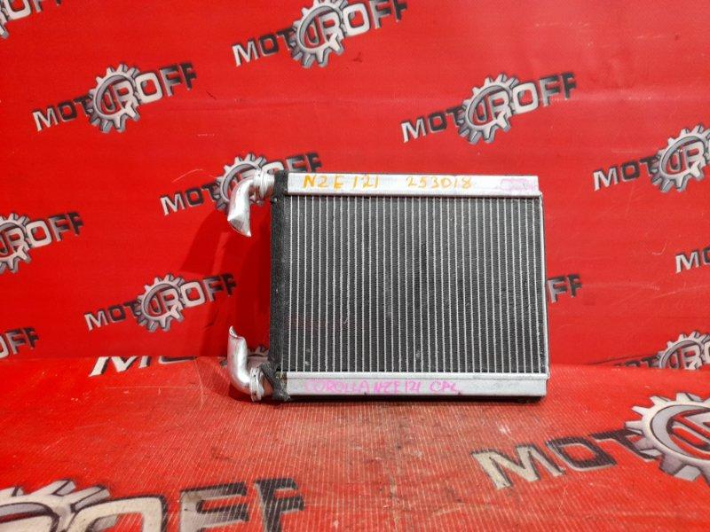 Радиатор отопителя Toyota Corolla NZE121 1NZ-FE `2000 (б/у)