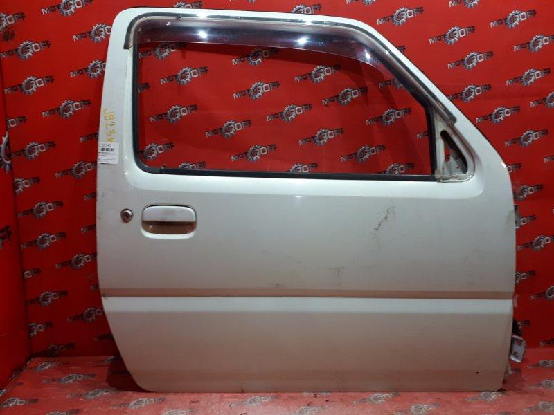 Дверь боковая Suzuki Jimny JB23W K6A-T 1998 передняя правая (б/у)