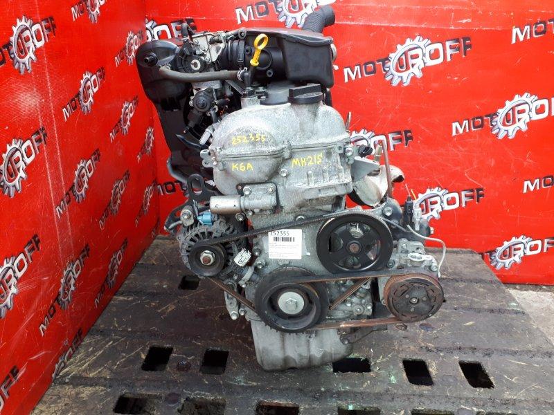 Двигатель Suzuki Wagon R MH21S K6A 2003 (б/у)