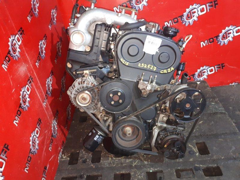 Двигатель Mitsubishi Dingo CQ2A 4G15 1998 (б/у)